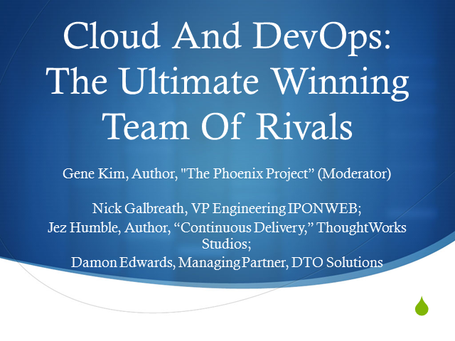 Cloud And DevOps: The Ultimate Winning Team Of Rivals
